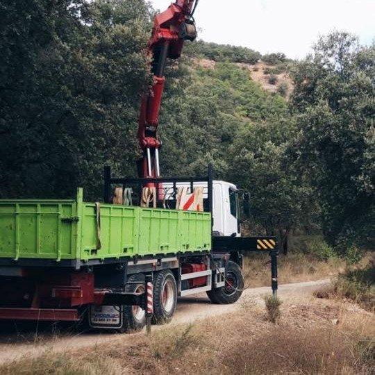 Camión grúa de 3 ejes PK 44