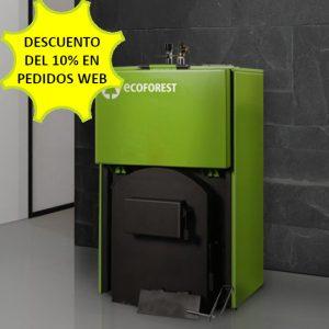 Caldera leña Ecoforest FORTALEZA