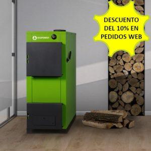 Caldera leña Ecoforest MADEIRA